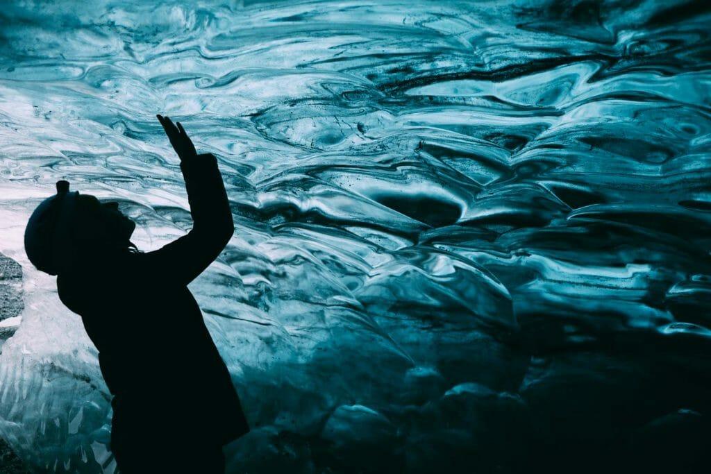 glacier Vatnajokull grotte de glace