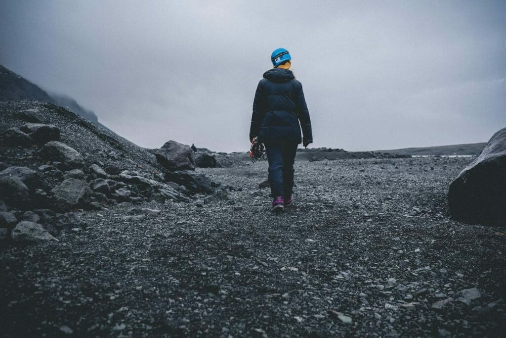 glacier Vatnajokull randonnée
