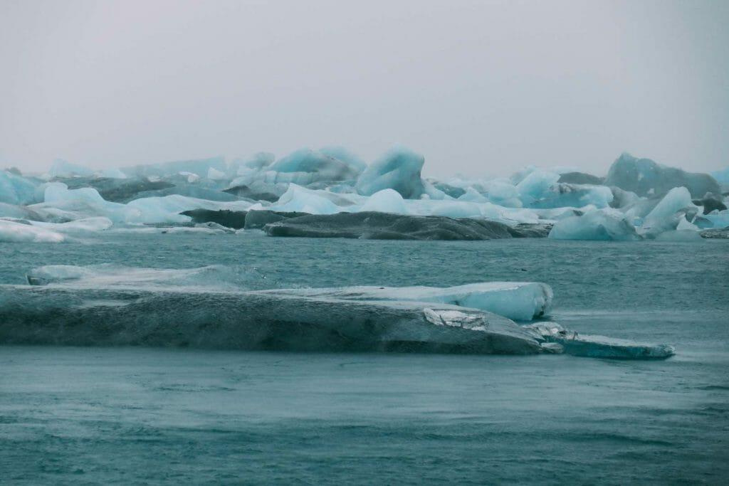 lagune glaciaire de Jökulsárlón