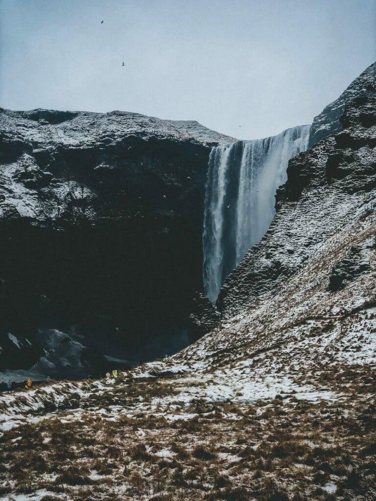 Cascade de Skógafoss