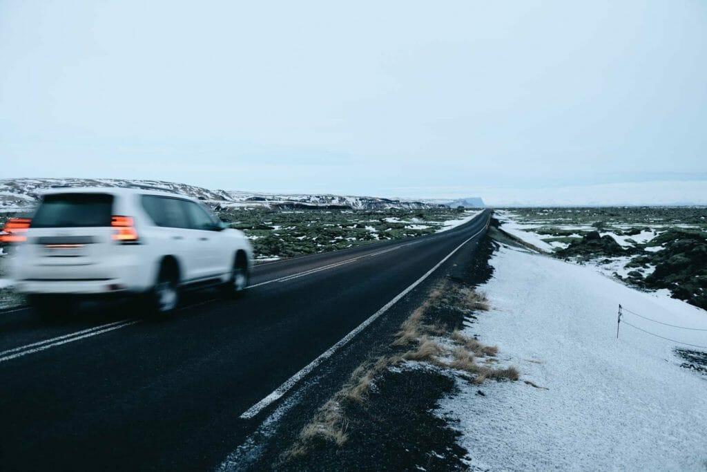 route N1 islande