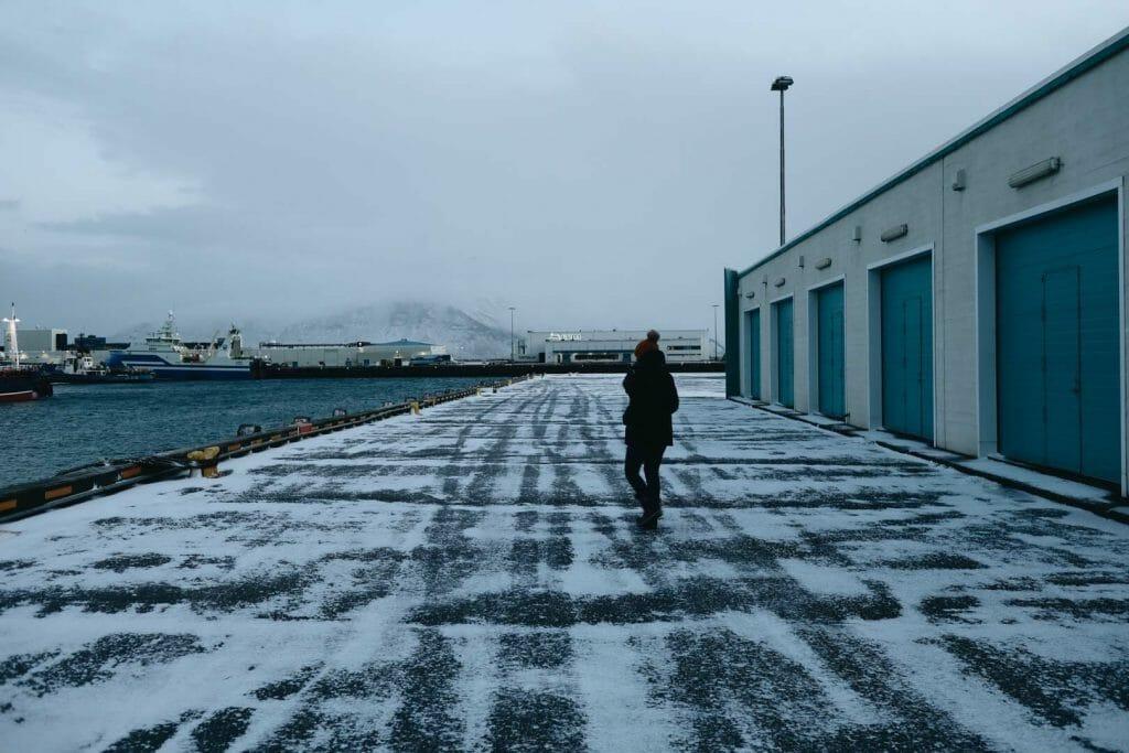 port reykjavik en hiver