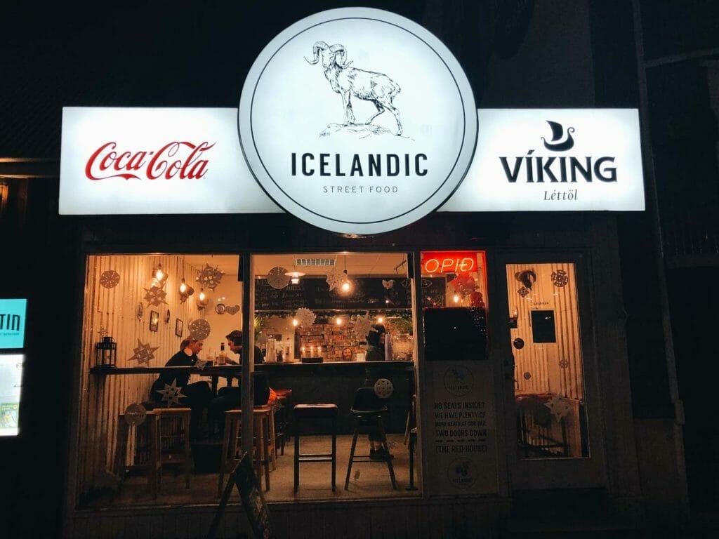 restaurant icelandic reykjavik