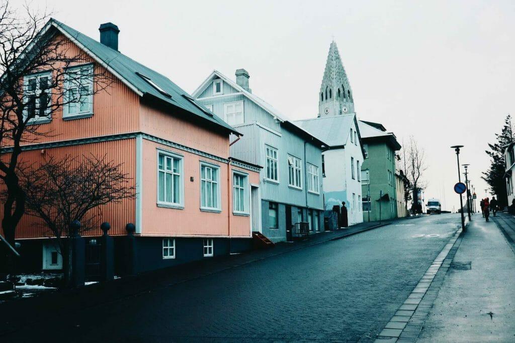 rue cathédrale reykjavik