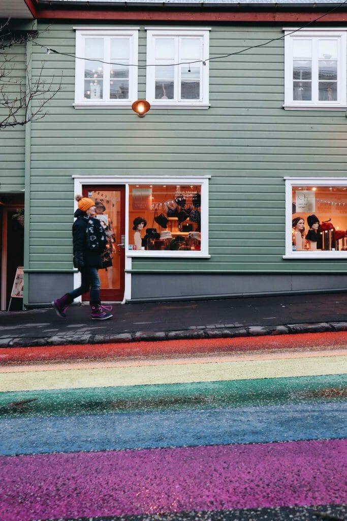 rue arc en ciel reykjavik