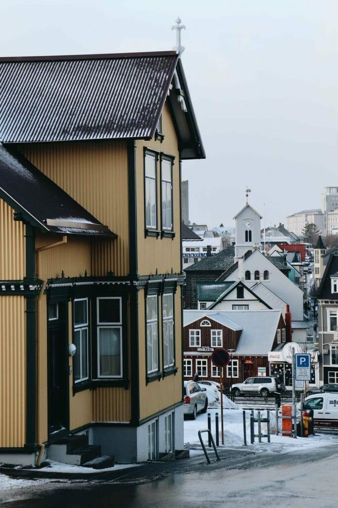 visiter reykjavik hiver