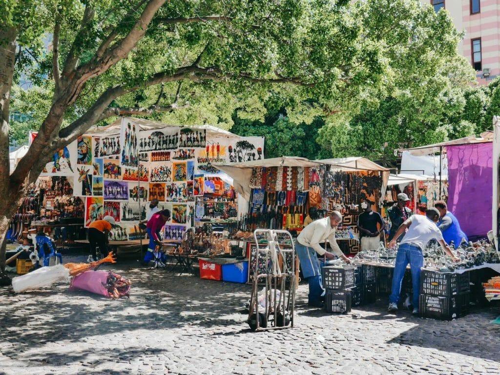 marché cap afrique du sud