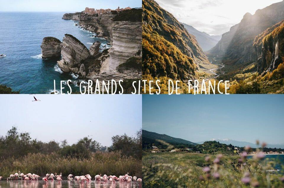 Voyager autrement avec les Grands Sites de France