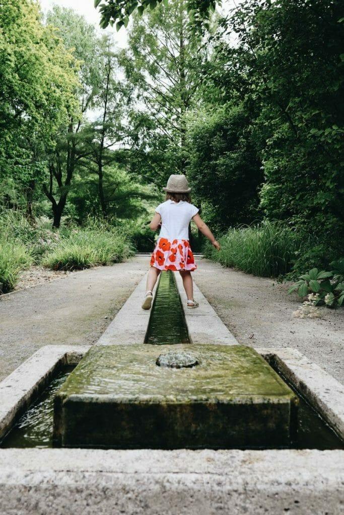 jardin de valloires enfant