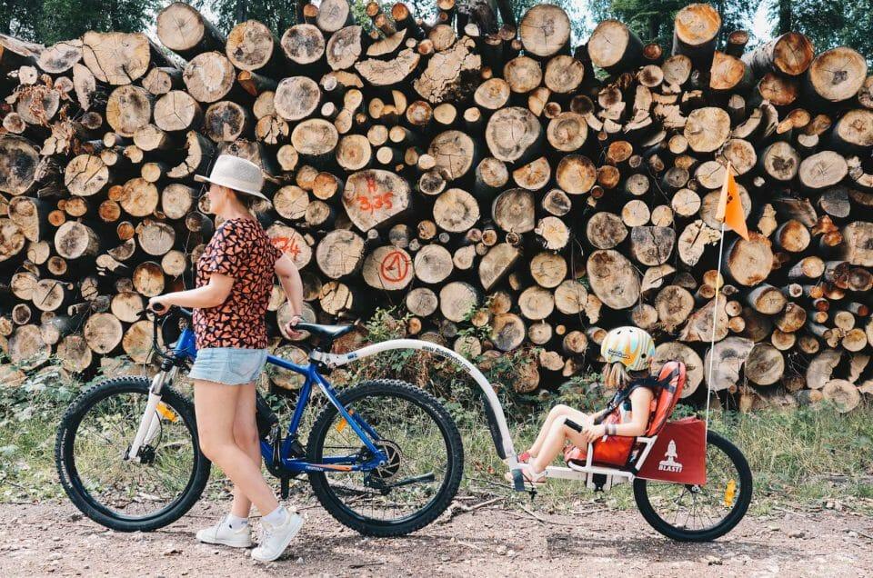 lyons la foret en vélo