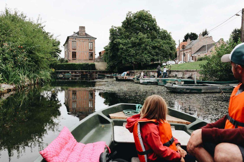 visiter les hortillonnages en barque