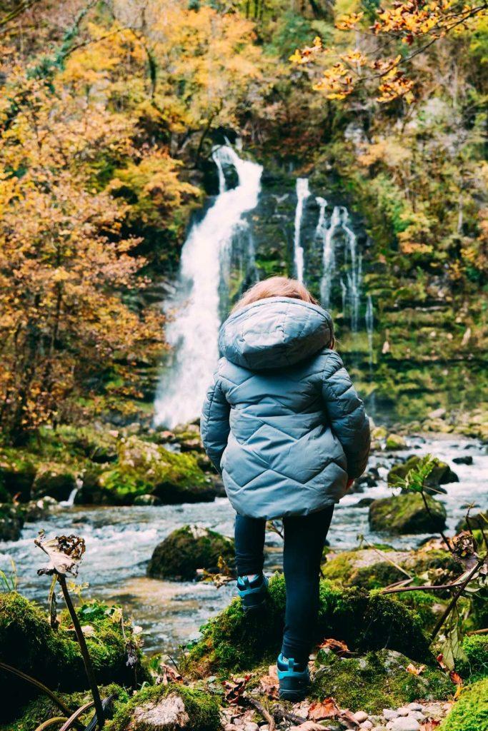 cascade flumen randonnée