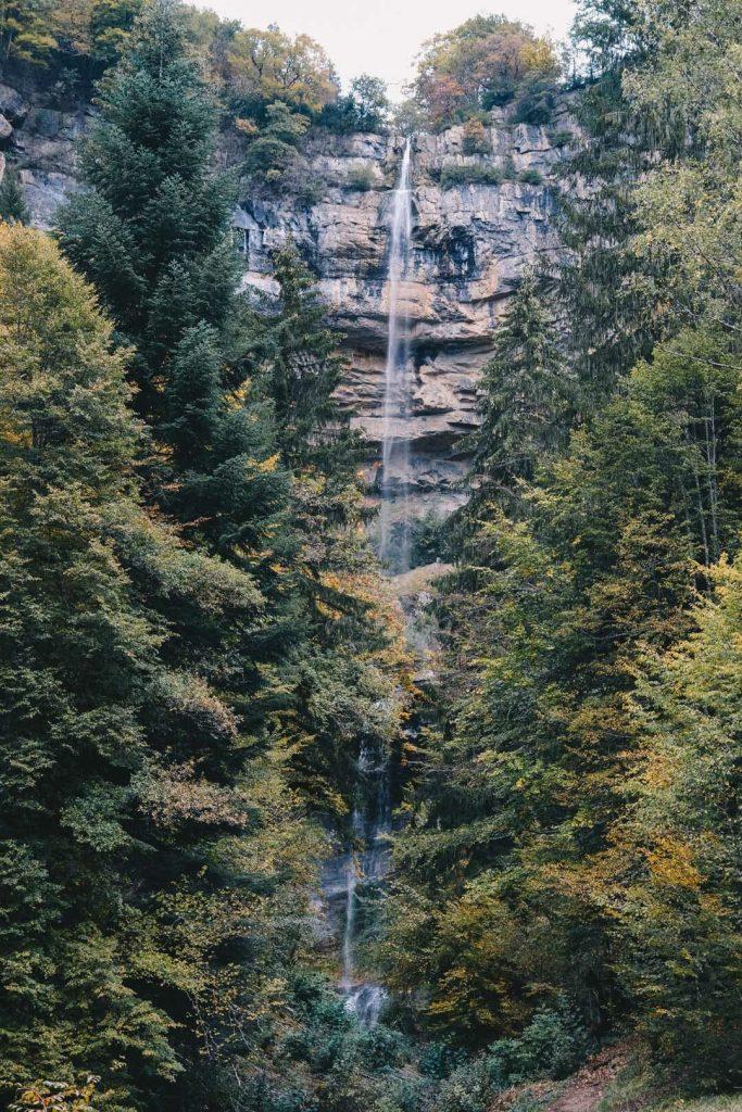 randonnée cascade de la queue de cheval
