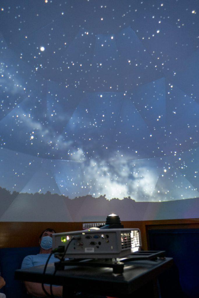 planétarium chapelle aux lys